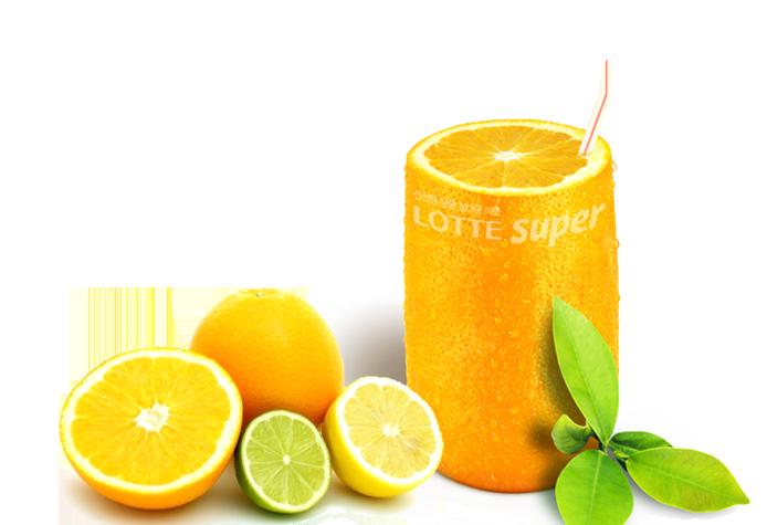 싱그러운 오렌지와 라임